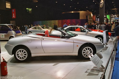Alfa rom o spider photo voiture tuning for M and m motors