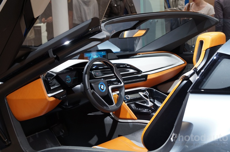 bmw i8 concept int rieur photo voiture tuning. Black Bedroom Furniture Sets. Home Design Ideas