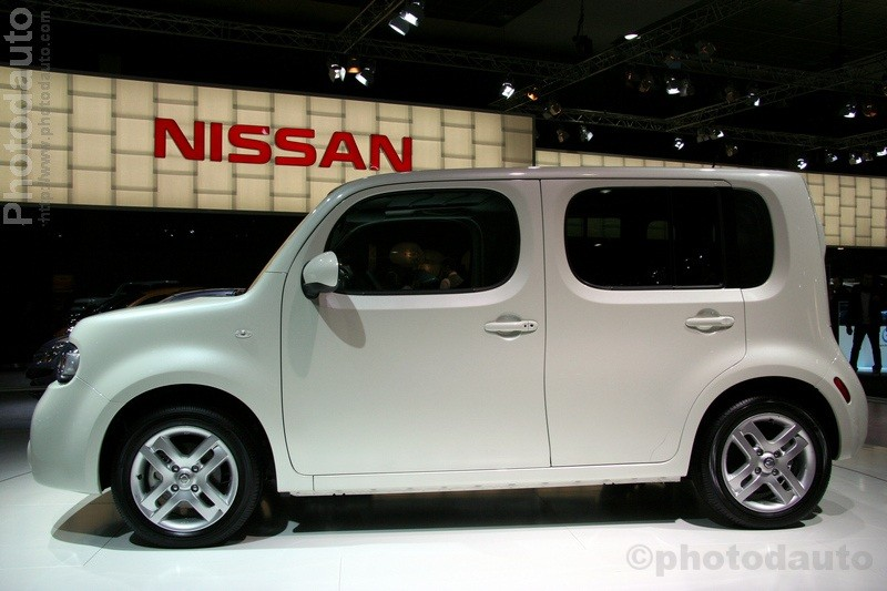 nissan cube profil photo voiture tuning. Black Bedroom Furniture Sets. Home Design Ideas
