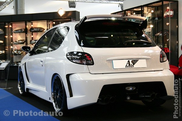 peugeot arriere voiture tuning Car Tuning