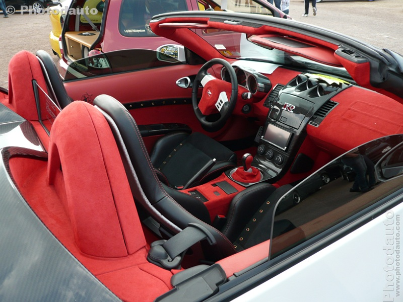 Nissan 350z roadster 280 pack int rieur photo voiture for Interieur tuning auto