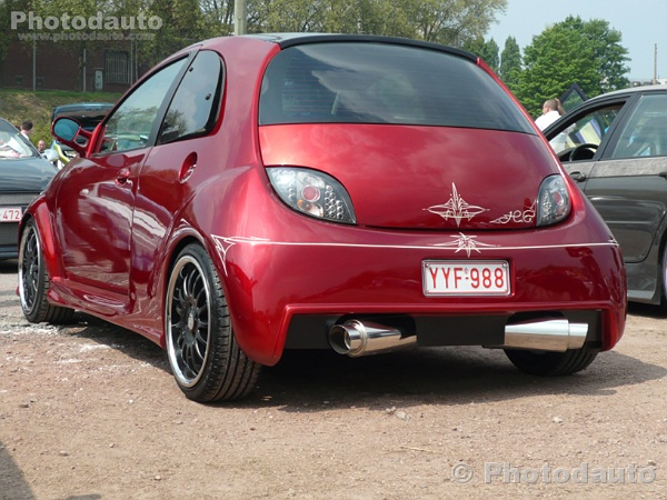 ford ka rouge photo voiture tuning. Black Bedroom Furniture Sets. Home Design Ideas